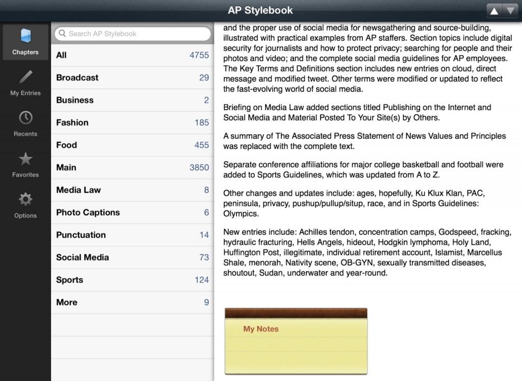 AP-Stylebook-app